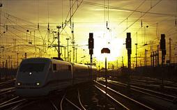 Der ICE - Highspeed auf Schienen