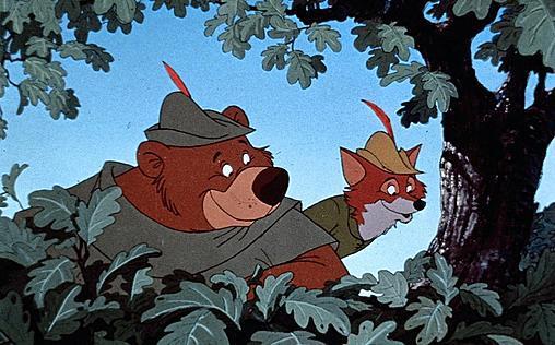 Robin Hood   England zur Zeit der Kreuzzüge. Nachdem König Richard Löwenherz ins Heilige Land gezogen ist, stößt sein niederträchtiger Bruder Prinz John ihn vom Thron und ergreift selbst die Macht. Fortan unterdrückt und beutet er die Bevölkerung mit der Hilfe brutaler Steuereintreiber schamlos aus. Einzig der schlaue Fuchs Robin Hood lässt sich das nicht bieten. Mit einer Schar Gleichgesinnter hat er sich im Wald versteckt und bestiehlt die Reichen, um es den Armen zu geben. Vom einfachen Volk wird er deshalb als Held gefeiert, aber der böse John will ihm das Handwerk legen … Der wunderbare Zeichentrickfilm aus dem Jahre 1973 ist und bleibt ein Disney-Klassiker!