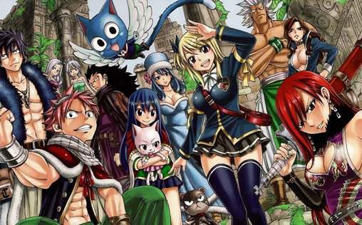 Fairy Tail: Fearî teiru   TV-Programm von ProSieben MAXX