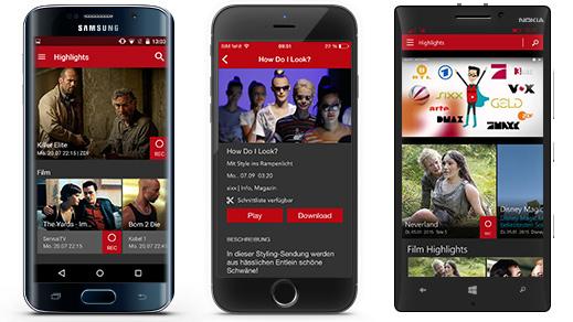 Save.TV App für Smartphones