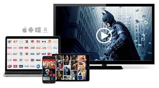 Save.TV Online-Videorecorder Geräte Übersicht